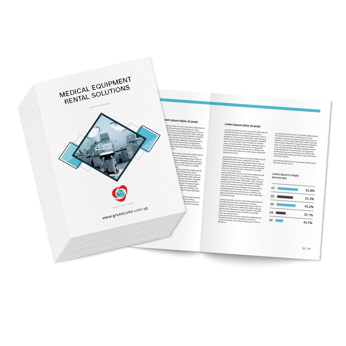 Offset Brochures / Leaflets